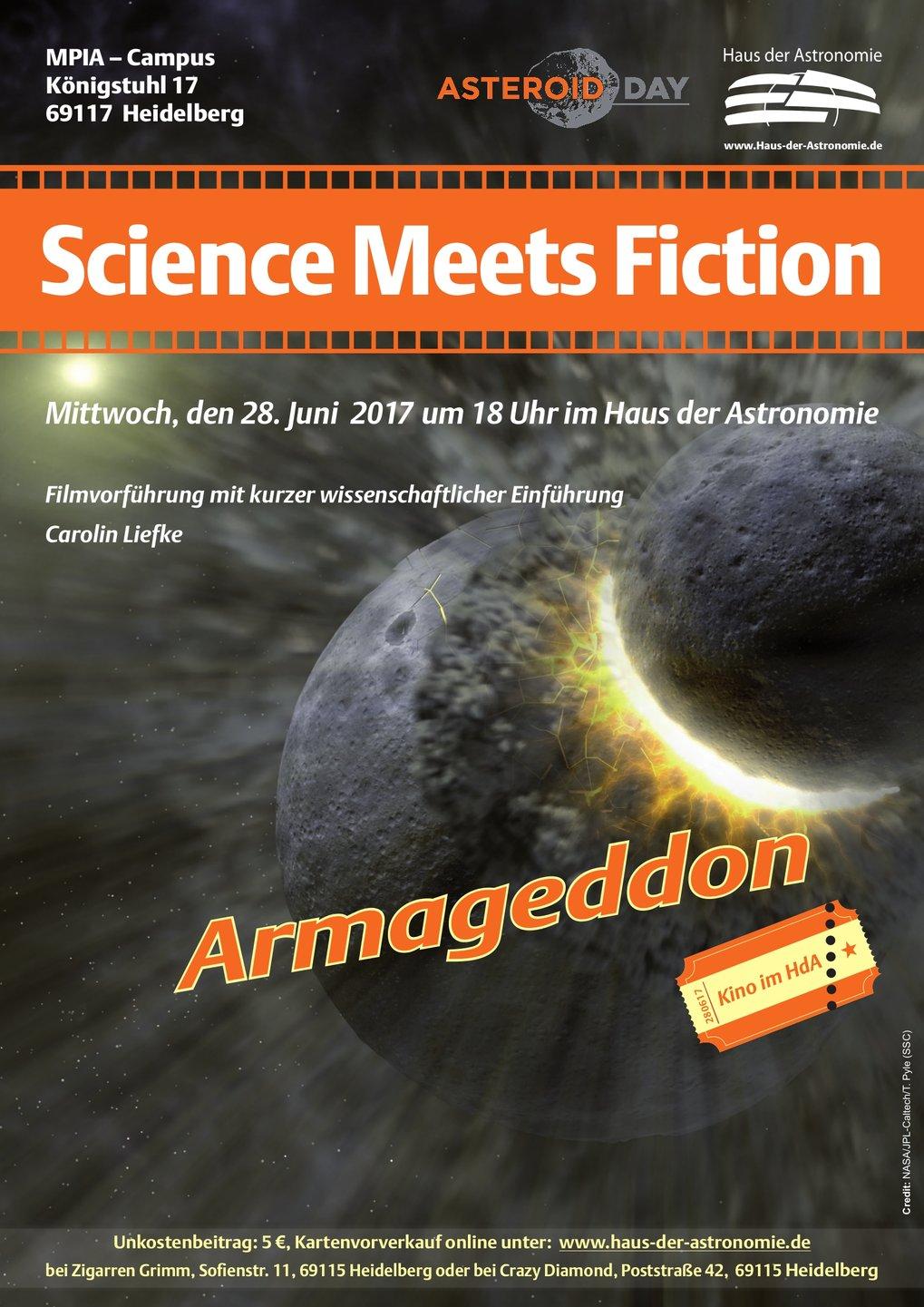 Science Meets Fiction: Armageddon | Haus der Astronomie