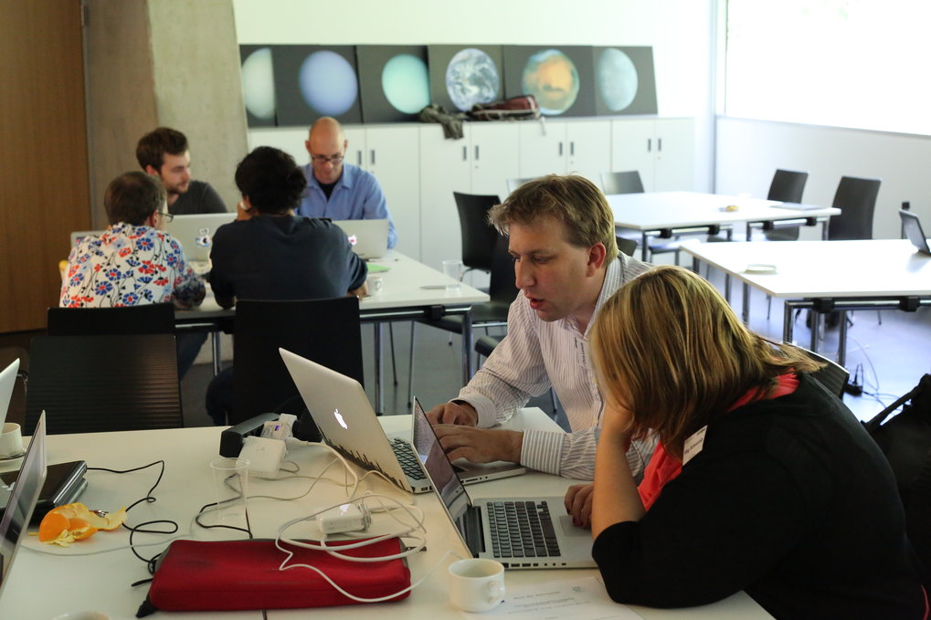 Concentrated work during the .astronomy 4 conference in Summer 2012.