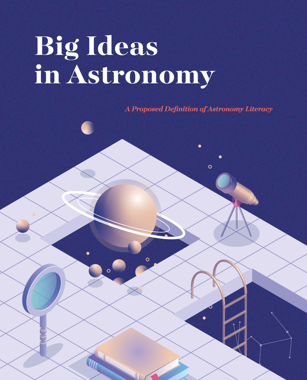 Cover of the new IAU booklet on astronomy literacy
